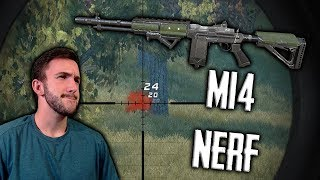 MY LAST GAMES WITH THE OP M14! Rules of Survival Gameplay With Youtubers/Subs