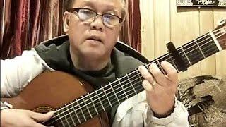 Ướt Mi (Trịnh Công Sơn) - Guitar Cover by Bao Hoang