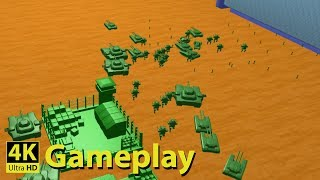 Home Wars - 4K GAMEPLAY [New RTS like Army Men RTS Game]