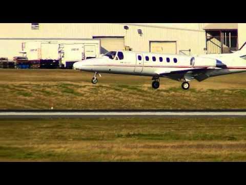 Transport Canada Cessna 550 Landing in Ottawa