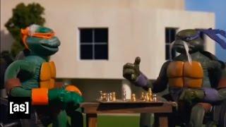 Senior Mutant Ninja Turtles | Robot Chicken | Adult Swim