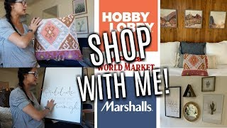 Baixar SHOP & Decorate with ME | HAUL | Making an UGLY Room CUTE- Hobby Lobby, Marshalls
