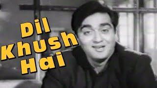 Dil Khush Hai Aaj Unse - Old Romantic Song | Mohd. Rafi | Sunil Dutt | Gazal (1964)