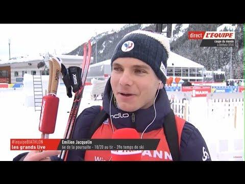 Athletics 3D: Emilien Jacquelin high Biathlon rifle performances - Crosse de Biathlon novatrice