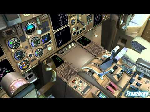 FSX CLS 767 test flight by franthree