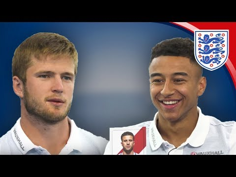 'You're not good at this!' Eric Dier & Jesse Lingard | Who's Who