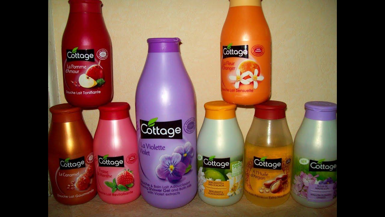 lait corps cottage caramel