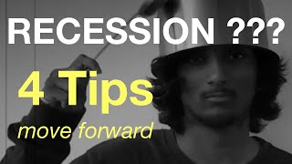Is there a recession or slowdown? | 4 tips during recession or slowdown or depression