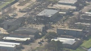 2 dead in massive explosion in northwest Houston