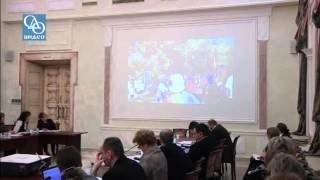 Выступление М.Л.Лазарева