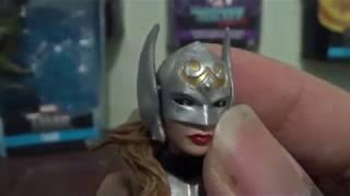 Marvel Legends Lady Thor Jane Foster Thor Ragnarok Gladiator Hulk BAF Wave Action Figure Toy Review