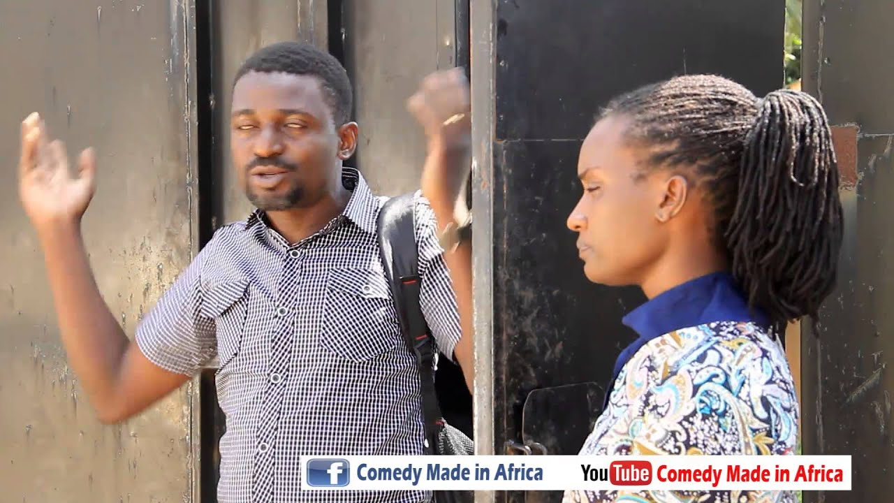 My wife u are ploting to kill me. African comedy