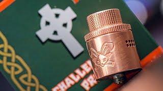 Dead Rabbit RDA Priest Challenge Cap Review - Heathen HellVape DR 24mm RDA