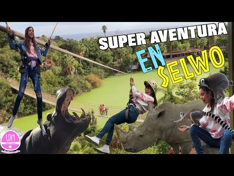 UN DIA DE DIVERSION EN SELWO AVENTURA🦏+JUMPING+TIROLINA CON MI PADRE/LA DIVERSION DE MARTINA