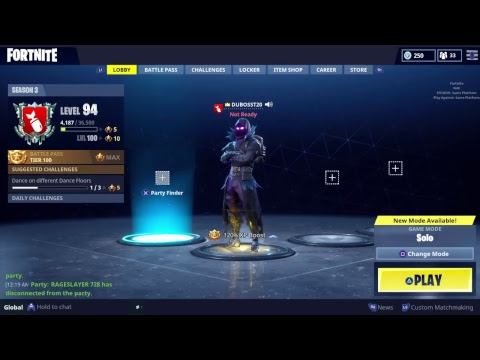 Fortnite new duos on person with xbox