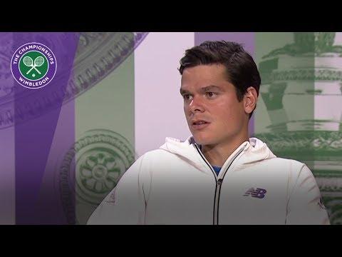 Milos Raonic Wimbledon 2017 quarter-final press conference