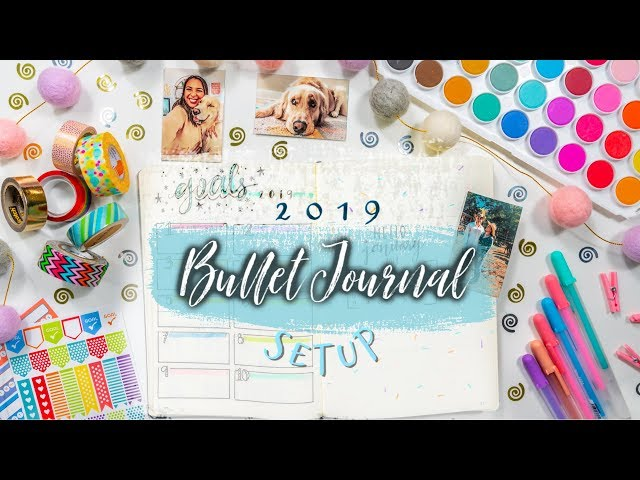 How To Bullet Journal for Beginners! 2019 Setup & DIY Easy Ideas for Maximum Productivity!