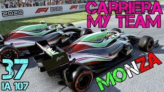 F1 2020 Carriera Scuderia (#37): A CASA NOSTRA!!! GameplayITA - GP Monza - GP Italia - 50% race