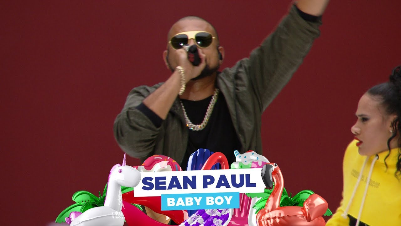 Sean Paul - 'Baby Boy' (live at Capital's Summertime Ball 2018)