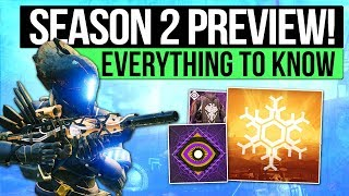 Destiny 2 | SEASON 2 PREVIEW! - Curse of Osiris, New Patches, Iron Banner, Faction Rally & New Gear!