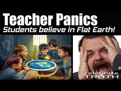 Students Believe in FLAT EARTH! Teacher FREAKS OUT! thumbnail