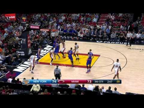 New York Knicks at Miami Heat - March 31, 2017