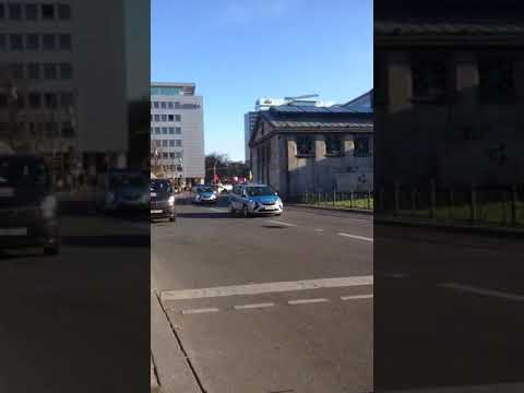 Berlin, Wittenbergplatz, 6.11.2017, Gedenkfahrt zum 100. Jubiläum der russischen Oktoberrevolution