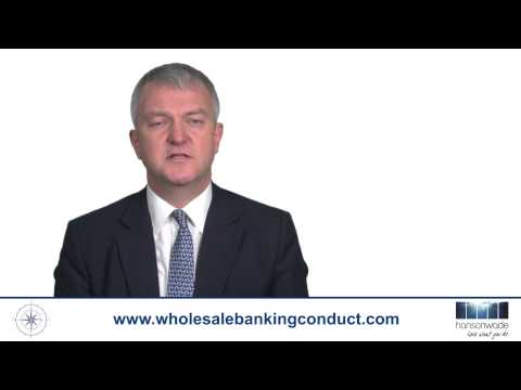 Wholesale Banking Conduct