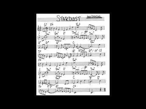 Stardust - Hoagy Carmichael + Sheet MUSIC