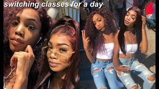 switching classes with my twin!