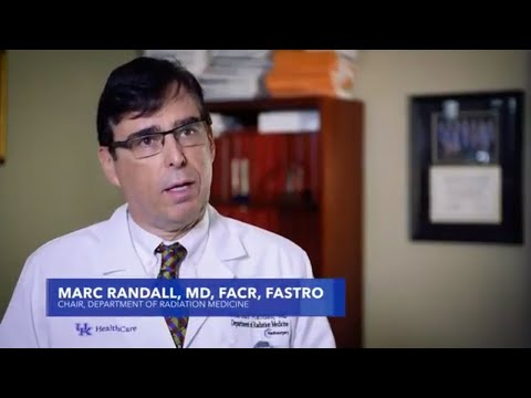 Dr. Marc Randall, Radiation Oncologist at UK HealthCare discusses the program