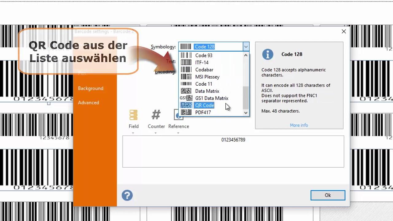 Labeljoy 6 - Barcode und QR-Code generieren - YouTube