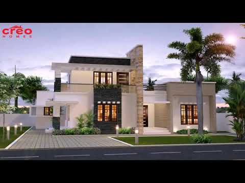 Small Modern House Plans Flat Roof 3