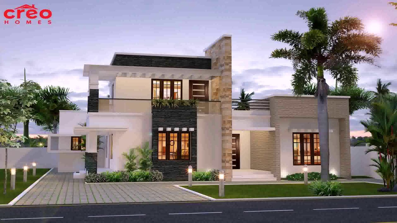Small Modern House Plans Flat Roof 3 - Gif Maker DaddyGif ...