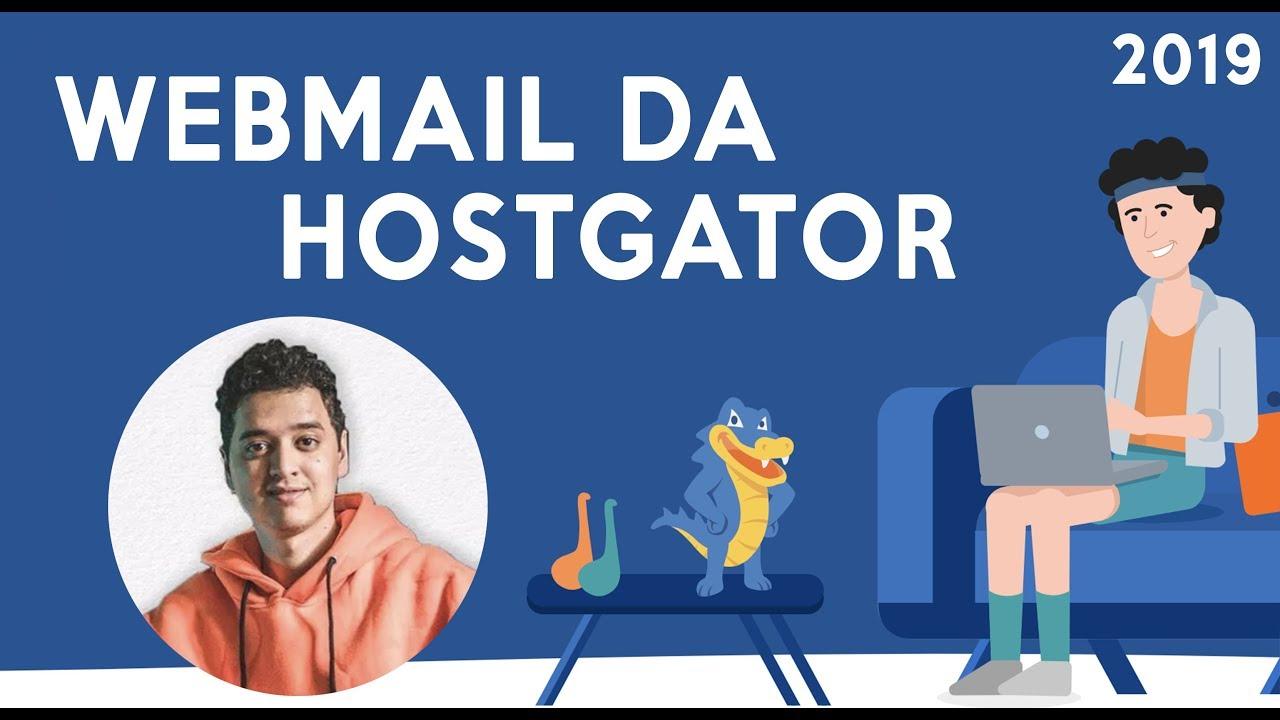 COMO ACESSAR O WEBMAIL DA HOSTGATOR