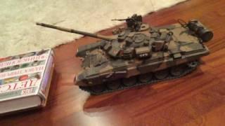 Танк т-90 іграшка. копія сильного російського танка