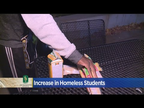 Homeless Student Population Growing At Sacramento State