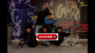 Dilwale 2015 Manma Emotion Jaage - free Style covered by Mad Guyz Crew