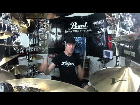 Bastille - Pompeii - Drum Cover - On The Mega Kit Featuring Pearl E-Pro Live Drums!