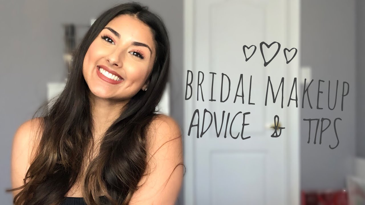 DOING YOUR OWN WEDDING MAKEUP  BRIDAL ADVICE + TIPS