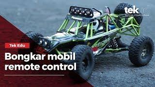 Bongkar mobil remote control, kayak apa sih dalamnya?
