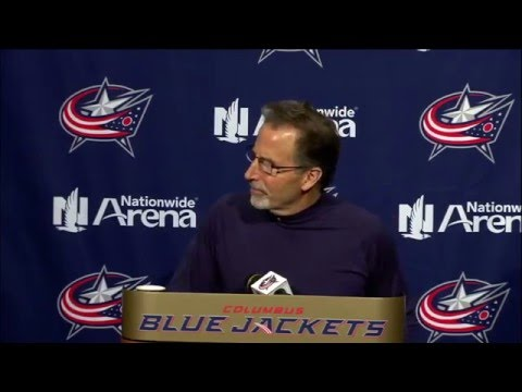 Pre-Game Press Conference (1/21/16): John Tortorella