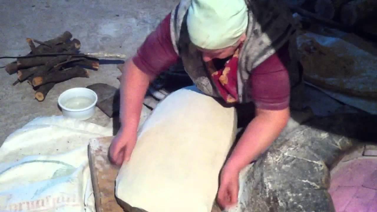 Настоящий Армянский Лаваш real lavash baking