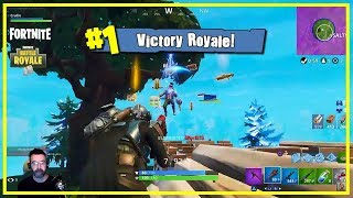 Fortnite Visitor Skin Win Gameplay by Camper Cralin
