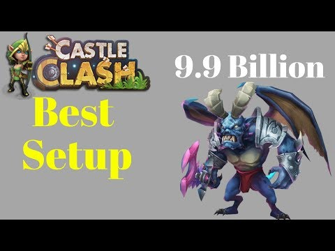 Archdemon Best Setup For All Players | Castle Clash