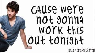 Nick Jonas & The Administration - Tonight (Lyrics On Screen) (Studio Version) HD YouTube Videos