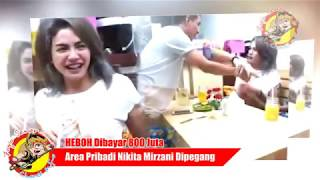 Dibayar 800 Juta!!! Area Pribadi Nikita Mirzani Dipegang Pria