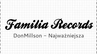 DonMillson - Najważniejsza