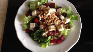 Салат со свеклой и сыром