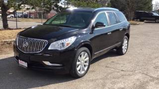 2017 Buick Enclave AWD Leather Upholstery Tri Zone Climate Control Black Oshawa ON Stock #170755